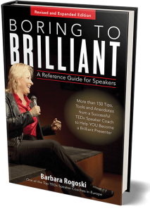 Boring to Brilliant A Speaker's Guide 2nd edition front cover
