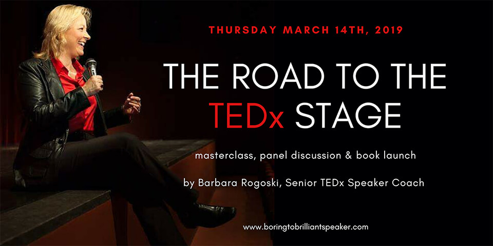The Road to the TEDx Stage